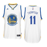 Klay Thompson - Golden State Warriors - 2015/16 Home Swingman Jersey