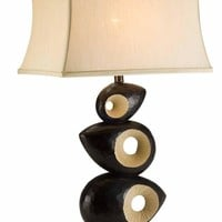 """34""""h African Craft Series Table Lamp"""