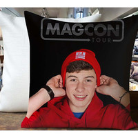 Shawn Mendes Red Hoodie - Housewares , Home Decor , Pillow Case One Side / Two Sides Design
