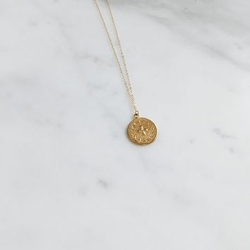Gold Bray Necklace