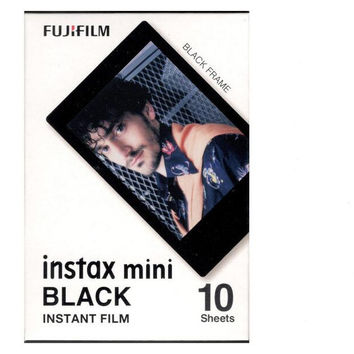 Original Fujifilm Instax Mini Fuji Film Black Frame For Mini 8 7s 7 50s 50i 90 25 dw Share SP-1 Polaroid Instant Photo Camera