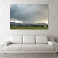 Rocky Mountain Storming Acrylic Print