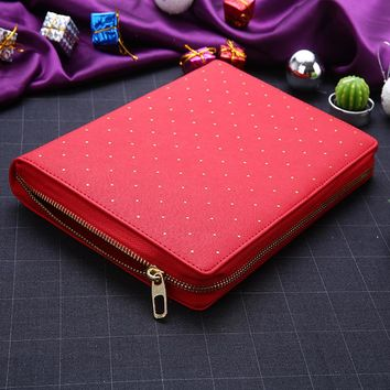 Red Beauty A5 Planner