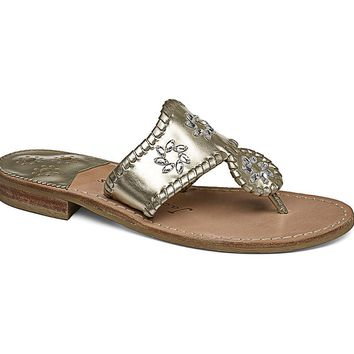 Enchanted Navajo Sandal in Platinum by Jack Rogers