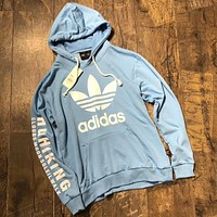 ADIDAS HU HIKING Clover Philippine Dong Men's Sweatshirt Blue