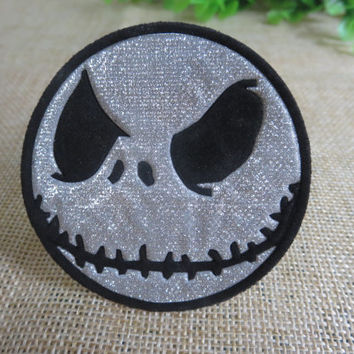 The Nightmare Before Christmas Jack Iron on Patch 024-HA