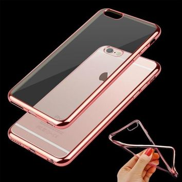 TPU SOFT BUMPER CASE COVER APPLE IPHONE 6 6S PLUS 5.5