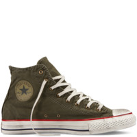 Converse - Chuck Taylor Washed Canvas - Hi - Beluga Grey