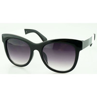 Color Block Round Sunglasses
