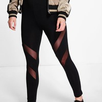 Verena Double Mesh Insert Leggings