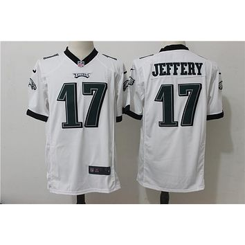 NFL Football Jersey Philadelphia Eagles # 17 Alshon Jeffery White