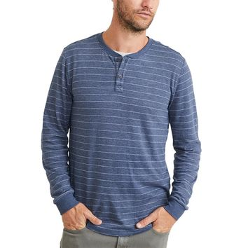Double Knit Henley by Marine Layer