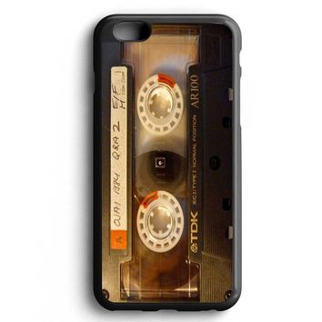 Custom Case Black Cassette for iPhone Case & Samsung Case