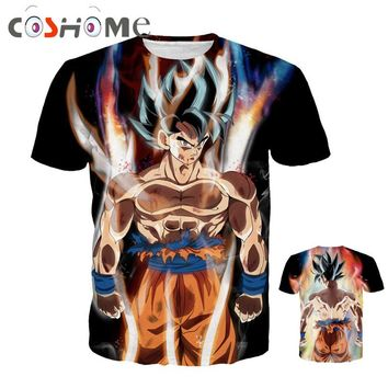 3D Dragon Ball Z Shirts