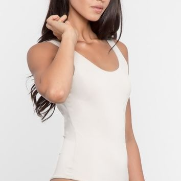 Basic Bodysuit - White