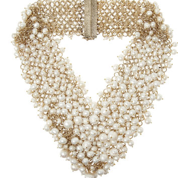 Rosantica | Osiris gold-dipped pearl necklace | NET-A-PORTER.COM