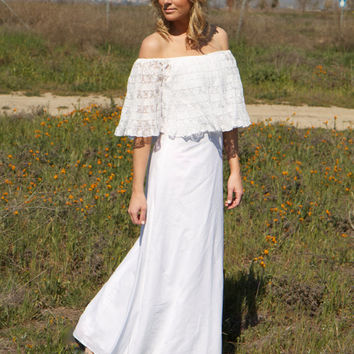 Bohemian Wedding Dress - Frida