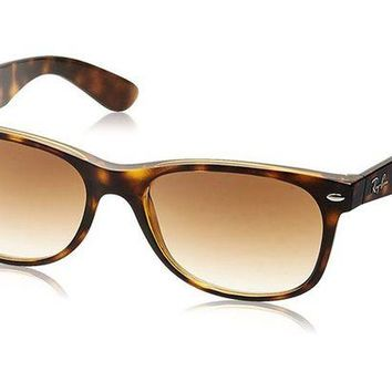 Kalete Ray-Ban 0RB2132 55 Light Havana Men's Sunglasses