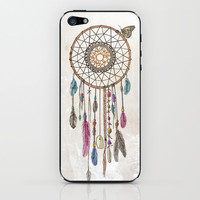 Lakota (Dream Catcher) iPhone & iPod Skin by Rachel Caldwell