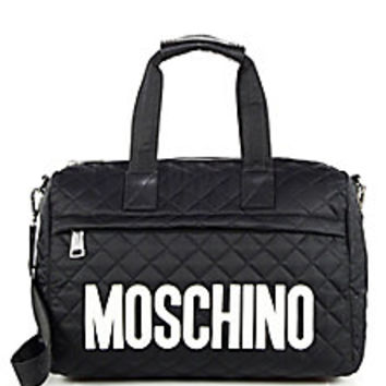 Moschino - Quilted Nylon Large Duffel Bag - Saks Fifth Avenue Mobile