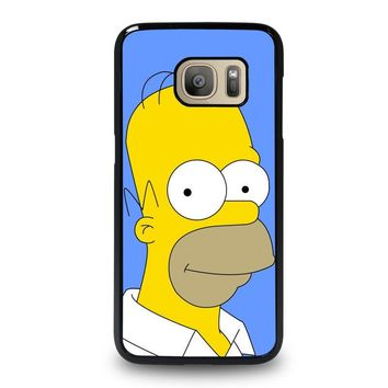 HOMER SIMPSONS Samsung Galaxy S7 Case Cover