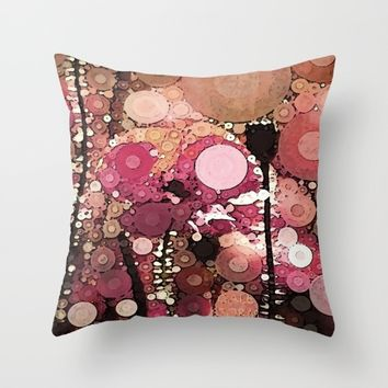 ::  Poppy-Dew :: Throw Pillow by :: GaleStorm Artworks ::