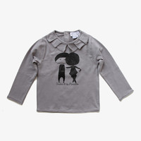 Arsene et Les Pipelettes Boy + Girl Long Sleeve Tee - FINAL SALE - H15FT12