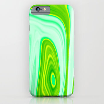 Abstract Fluid 10 iPhone & iPod Case by Arrowhead Art