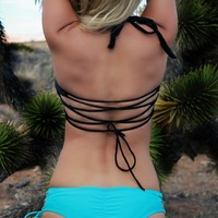 Santa Cruz Strappy Side Bikini Bottom