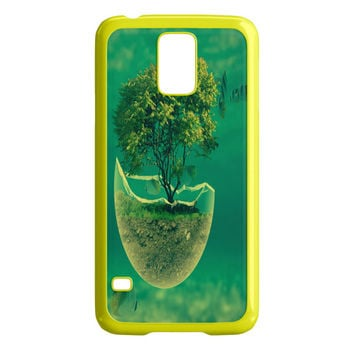 Tree in The Sea Abstract Samsung Galaxy S5 Case