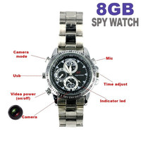 Waterproof 8GB Spy Watch DVR Video Recorder Pinhole Hidden Mini HD Camera Camcorder = 1956619076