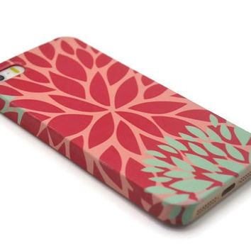 iphone 5S case floral iphone 6 plus case leaves iphone 6 case floral galaxy s6 edge iphone 4S case galaxy S5 floral LG G3 G4 Sony Xperia Z3