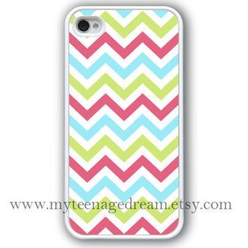 chevron iPhone 4 Case iphone 4s case sky blue & by MyTeenageDream