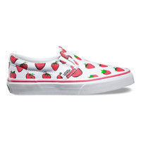 Kids Strawberries Slip-On | Shop Girls Shoes at Vans