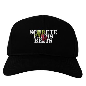 Schrute Farms Beets Adult Dark Baseball Cap Hat by TooLoud