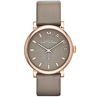 Marc by Marc Jacobs Grey Baker Analog Watch - Gunmetal