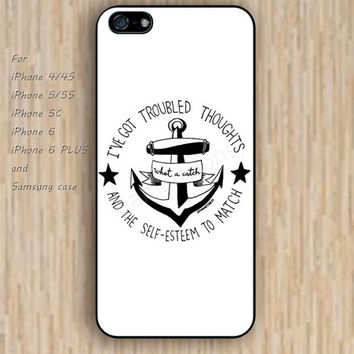 iPhone 6 case dream colors anchor iphone case,ipod case,samsung galaxy case available plastic rubber case waterproof B178
