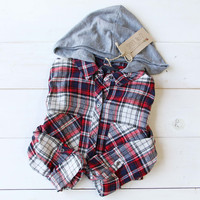 The Easton Plaid Hoodie
