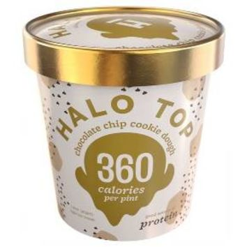 Halo Top Chocolate Chip Cookie Dough - 1 pt