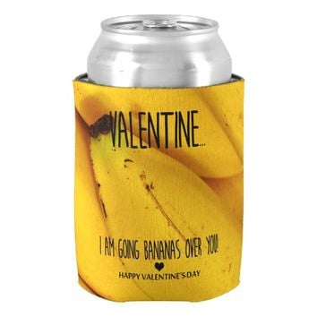 Going bananas over you Valentine's Day Can Cooler