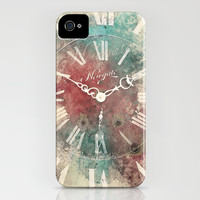 Old Clock iPhone & iPod Case by Nechifor Ionut