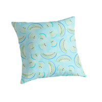 Summertime Aqua Blue Pillow Cover