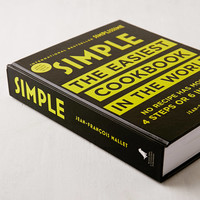 Simple: The Easiest Cookbook in the World By Jean-Francois Mallet | Urban Outfitters