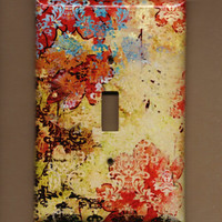 Oversized 35 x 525 Very Abstract Switchplate cover by TurnMeOnArt