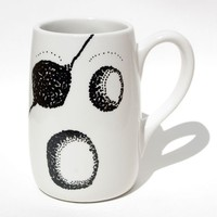 Pirate Ghost and Spiderweb Mug hand painted by FeistyOwlStudio