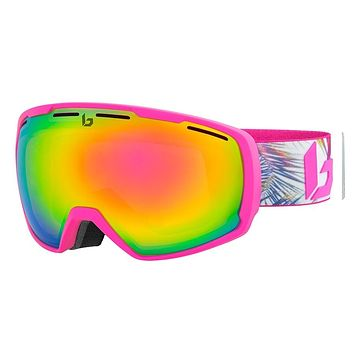 Bolle - Laika Matte Pink Hawai Snow Goggles / Rose Gold Lenses