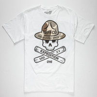 Neff Scout Mens T-Shirt White  In Sizes