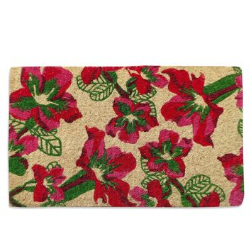 Field of Poppies Coir Doormat