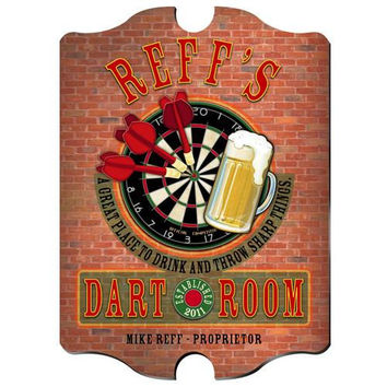 Vintage Series Personalized Signs  - DARTS