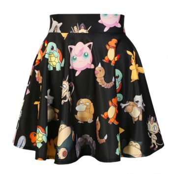 O-Mighty Pokemon Skater Skirt